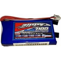 Bateria Life 2s - 6.6v - 1100mah Para Receptores De Rádio