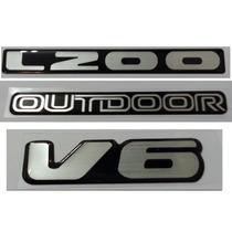 Kit Adesivo L200 Outdoor V6 Resinado