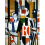 Poster Foto Hd Fernand Léger 60x80cm Obra Homens Na Cidade