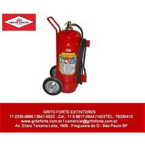 Extintor Carreta 75 L Agua Pressurizada (usada)