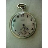 479877d7f25 Antigo Relógio De Bolso Corda Marca Longines Ano 1940 !