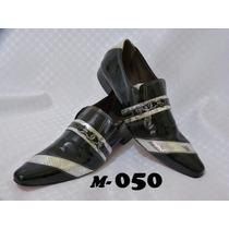 Sapato Social Artesanal Em Couro M:48,50,51,54,54a,59