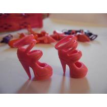 Sapato De Salto Sandália Para Barbie Modelo 5 Rosa Importado