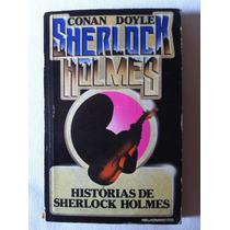 Livro Histórias De Sherlock Holmes (280 Páginas, Bom Estado)
