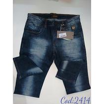 Calça Jeans Oppnus Masculina Tradicional Coleção 2016