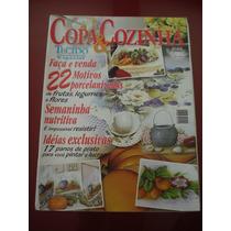 Revista Copa E Cozinha Pintura Tecido Porcelanizada N°10