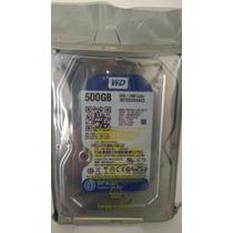 Hd 500 Gb- Modelo Wd5000aakx Blue - Interno - Wd