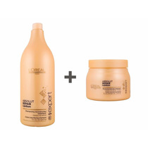 Loreal Absolut Repair Lipidium Máscara 500ml+shampoo 1500ml