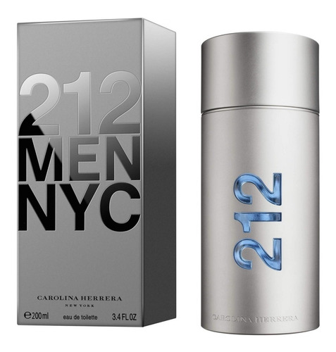 Perfume Carolina Herrera 212 Masc 200ml Original + Amostra