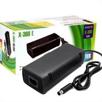 Fonte Xbox 360 Elite Super Slim Bivolt 115w + Cabo De Força