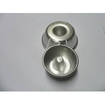 Forminha Mini Pudim Nº 0 Kit Com 48 Pçs Aluminio