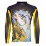 Camiseta Pesca Sublimada Uv - Kff78 Carpa Nota Fiscal
