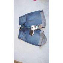 Shorts Jeans Barra Dobrada Feminino Empório Cod.3416