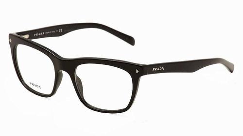 Armação De Óculos Grau Vpr 01 Prada Journal Luxo 54 19 140 c60373e375