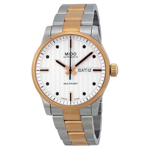 16ec6f7628c Relógio Mido Multifort Automatico Misto Dourado Oportunidade