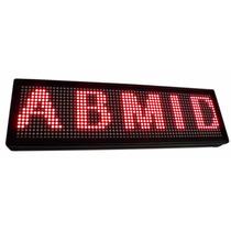 Letreiro Painel Digital Display Luminoso 12v Carro De Led