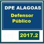Dpe Al Alagoas - Defensor Público 2017 Dvd Vídeo + Apostilas