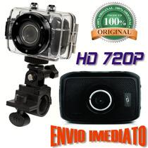 Câmera Filmadora Hd Esporte Digital Percurso Case Provadágua