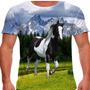 Camiseta Cavalo Pampa Preto Masculina