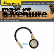 Touratech - Calibrador De Pneus De Alta Precisão Para Motos