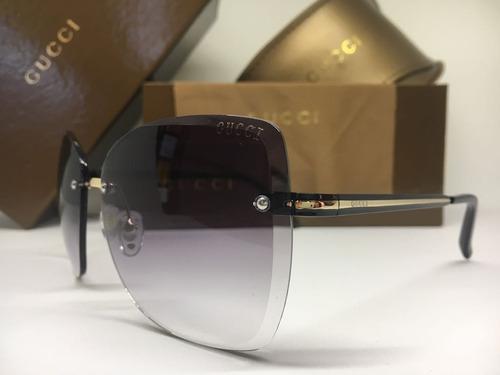 693a65d97dc61 Oculos De Sol Feminino Gucci Original Quadrado Frete Grátis