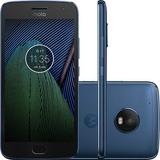 Celular Moto G5 Xt1683 Plus Dual Chip Android7.0 32gb Azul