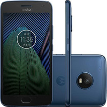 Celular Moto G5 Xt1683 Plus Dual Chip Android7.0 32gb Azul