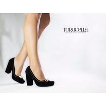 Sapato Salto Alto Scarpin Preto Feminino Exclusivo Lindo