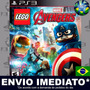 Lego Marvel's Avengers - Ps3 - Cód Psn - Dublado Português