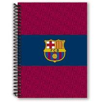 Caderno 1/4 Espiral Capa Dura 96 Folhas Barcelona