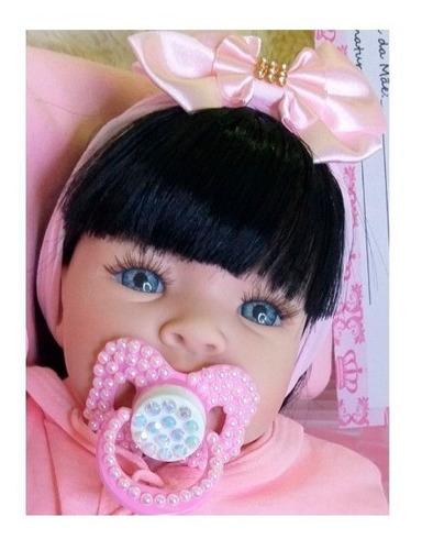 Boneca Reborn Bebê Realista 14 Itens Pronta Entrega Menina