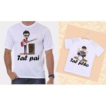 Kit Camisetas Tal Pai, Tal Filho Musicos