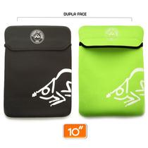10 - Capa De Neoprene Protetora Para Notebook, Netbook E Ipa