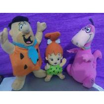 Lote Bonecos Flintstones Hanna Barbera Fred Pedrita Dino