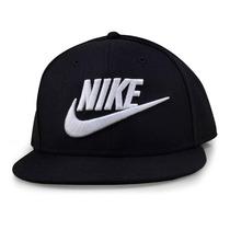 Boné Nike True Futura 2 Snapback 584169-010 Preto Original 7553b3c010f