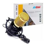Microfone Condensador Podcast Studio Gravação + Nfe