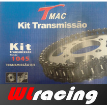 Relação Kit Transmissão Cg150 Titan/ks/es/mix/fan Aço 1045