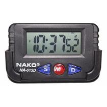 Relógio Digital Cronometro E Despertador 10 Unid. Revenda