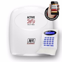 Alarme Monitorado Jfl Active 20 Ultra Monitore Pelo Celular