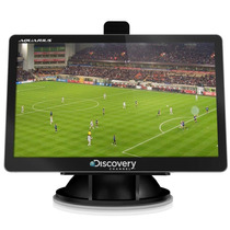 Gps Discovery 4,3 Polegadas Com Tv Digital E Mapas 2015