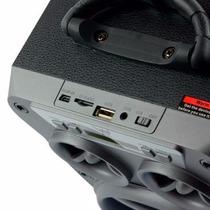 Caixa De Som Amplificada Bluetooth Bateria Interna Potente
