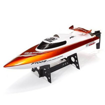 Lancha High Speed Racing Boat 4ch 2.4ghz Rc Ft009 Laranja
