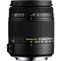 Lente Sigma P/ Nikon 18-250mm F3.5-6.3 Dc Os + Nota Fiscal