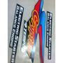 Faixa Adesiva Moto Clypton Preta 2001 Compl