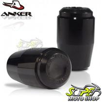 Slider Dianteiro Anker Gs 500 - Preto Brilhante - Suzuki