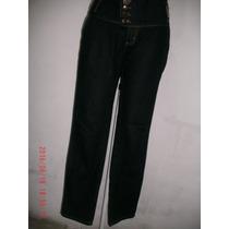 Linda Calça Jeans C/ Elastano- Empório Semi Nova Nº 42