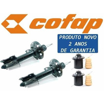 04 Amortecedores Novo Corsa + Coxim + Kit Reparo - Novo