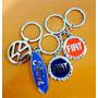 Chaveiro Logo Marcas Fiat, Ford , Vw Toyota Peugeout Nissan