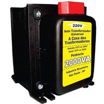 Conversor De Voltagem / Autotransformador 2000va 110v/220v