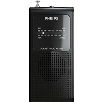 Radio Portatil Pequeno Am Fm Alto Falante Ae1500x/78 Philips